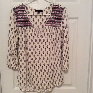 Boho top by Sanctuary size M EUC
